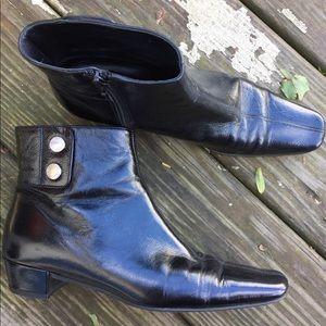 Coach | Italian Leather Booties
